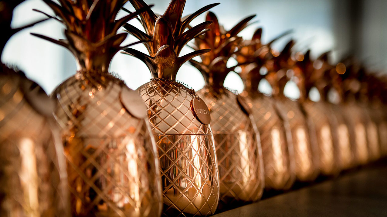 Copper Pineapples